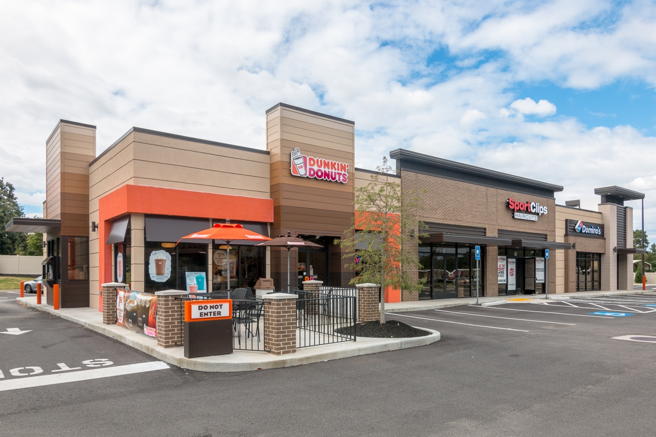 Dunkin Donuts  Retail Strip | SD Clifton Construction