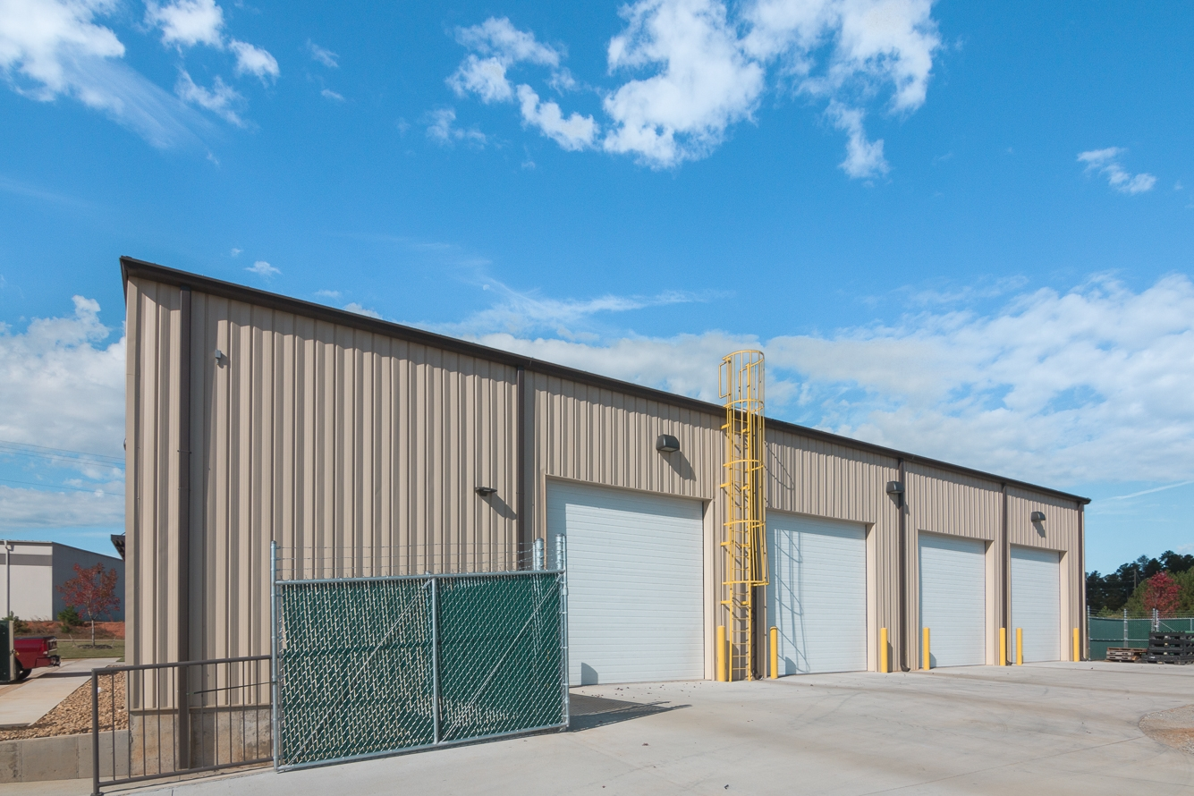 One3Design Exterior Warehouse | SD Clifton Construction