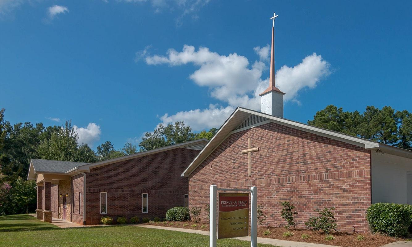 Prince of Peace Lutheran Church 1 | SD Clifton Construction