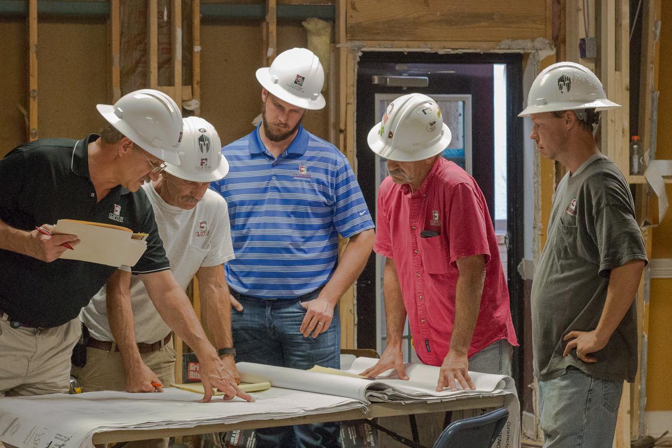 Job Site Employee Photo | SD Clifton Construction