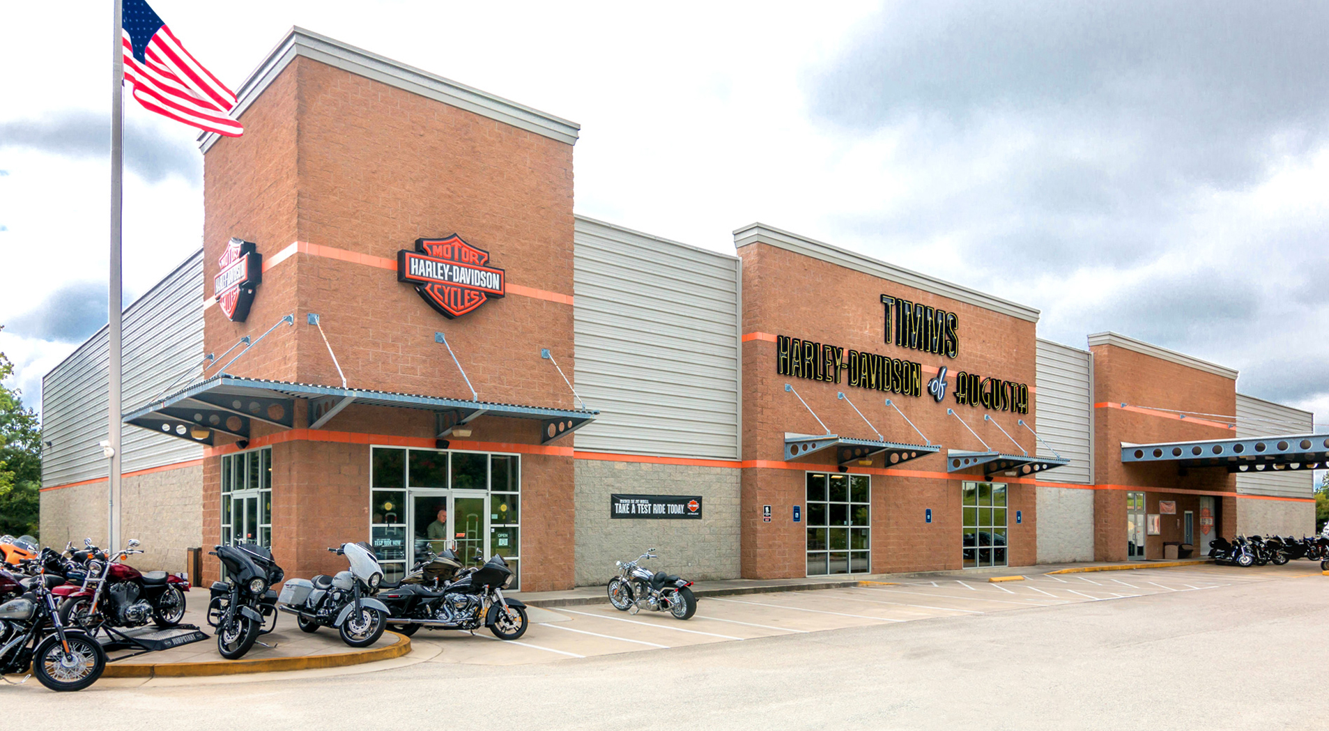 Harley Davidson Retail Development - Home | SD Clifton Construction