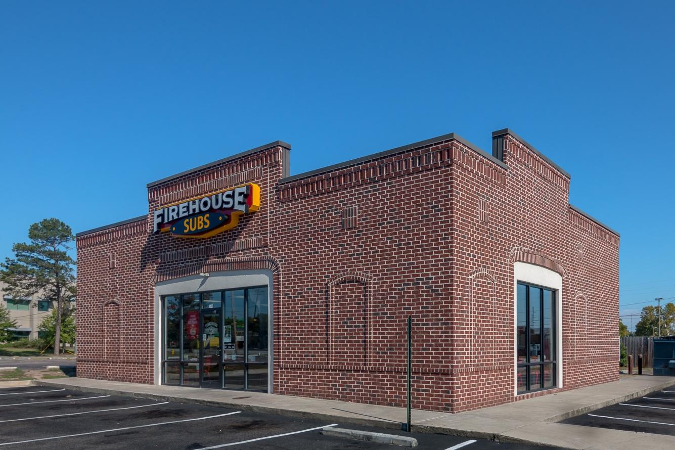 Firehouse Subs Exterior Side | SD Clifton Construction