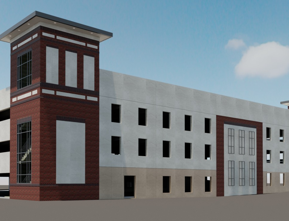 PLAZA PARKING GARAGE (RENDERING) CROPPED | SD Clifton Construction