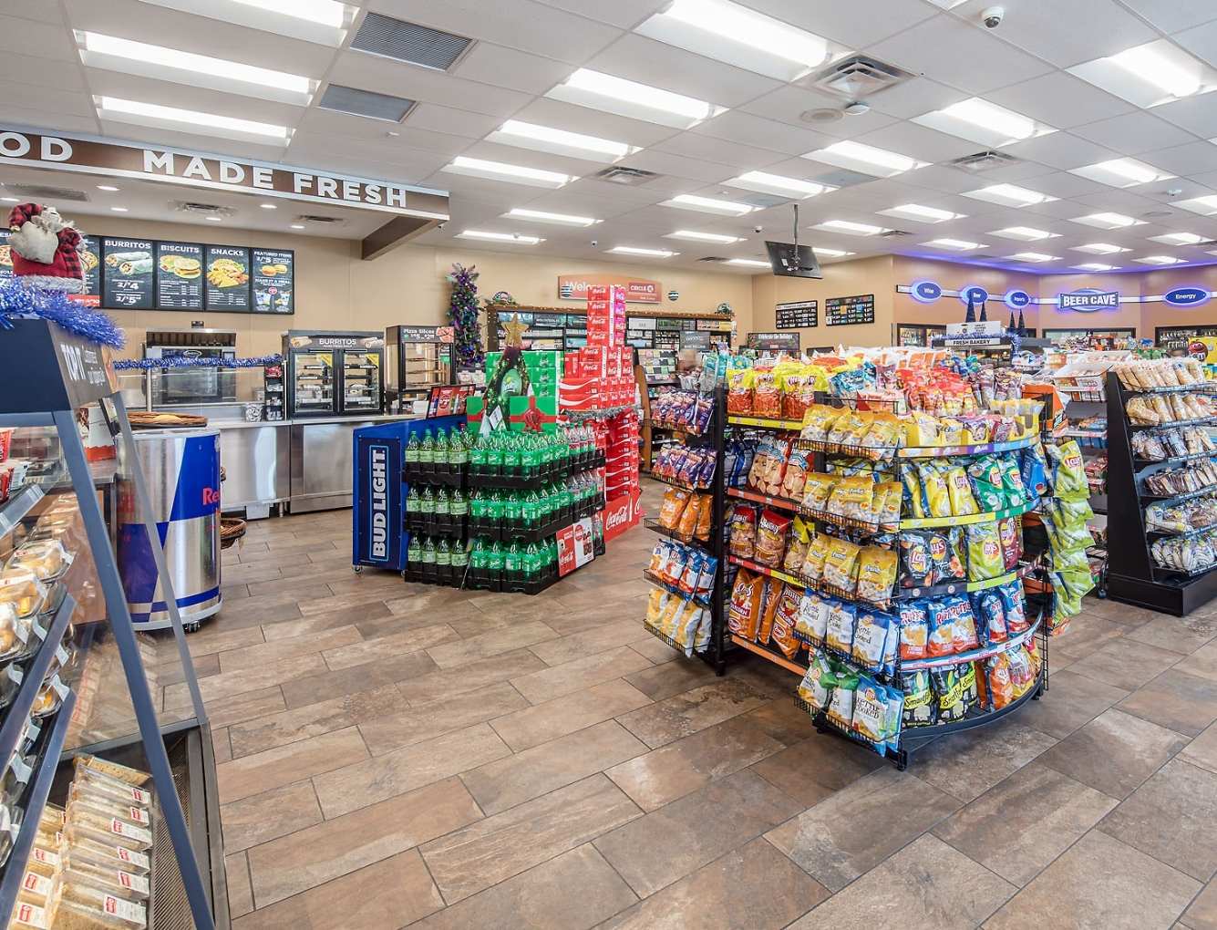 CIRCLE K RIDGELAND INTERIOR | SD Clifton Construction