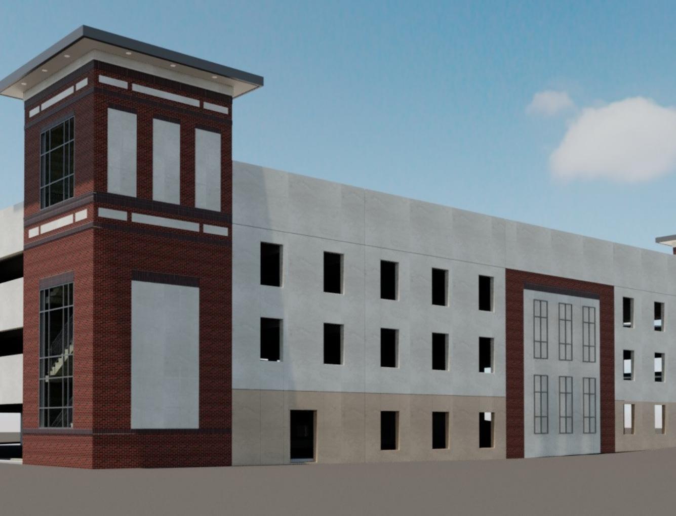Parking Garage in Progress | SD Clifton Construction