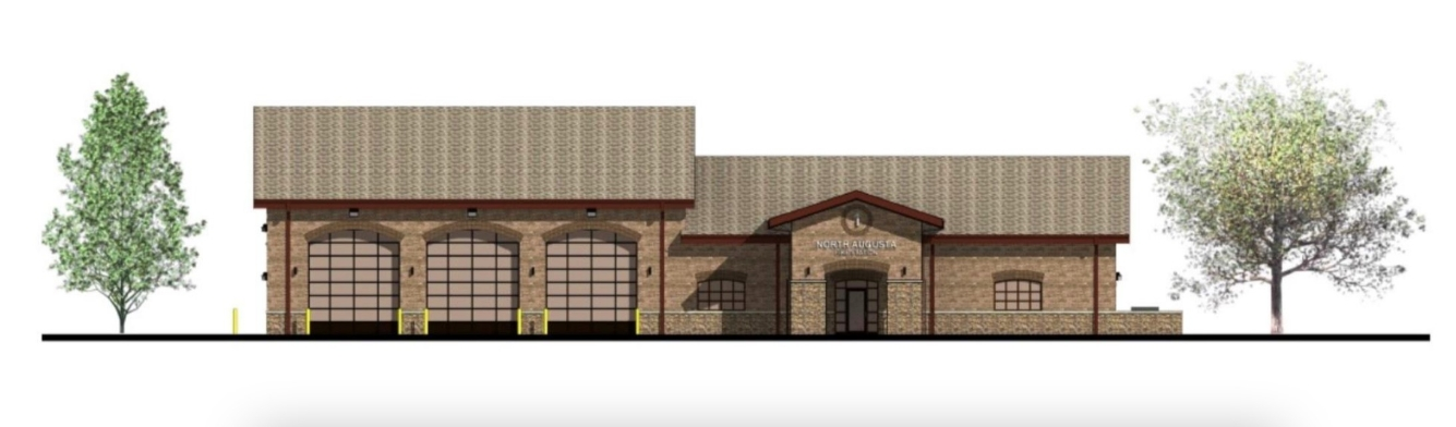 North Augusta Fire Station No. 1 Rendering.jpg | SD Clifton Construction